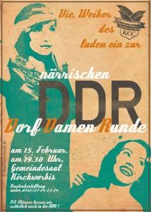 Flyer Weiberfasching 2015 (DDR)